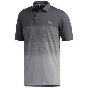 adidas Ultimate365 Fade Stripe Golf Polo Shirt - ON SALE - FQ2986 REACORAL - XL