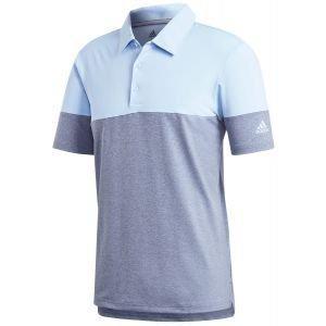 adidas Ultimate 365 Heather Blocked Golf Polo Shirt - ON SALE
