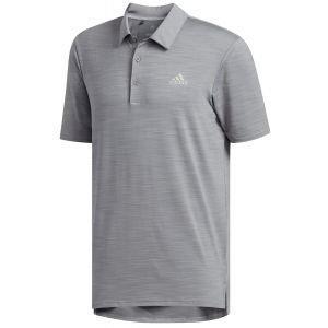 adidas Ultimate365 Heather Golf Polo Shirt - ON SALE - DJ2861 GRY 3 HT - XXL