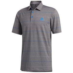 Adidas UItimate365 Heather Stripe Golf Polo