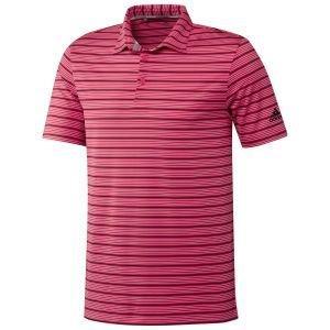 Adidas Ultimate365 Pencil Stripe Golf Polo