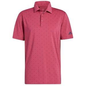 adidas Ultimate365 Printed Golf Polo Shirt
