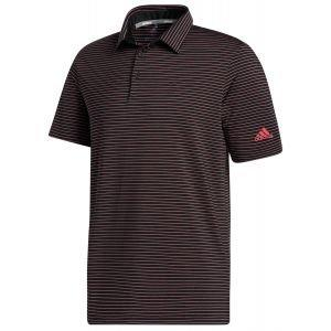adidas Ultimate365 Space Dye Stripe Golf Polo