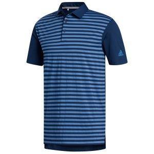 adidas Ultimate365 Stripe Golf Polo Shirt