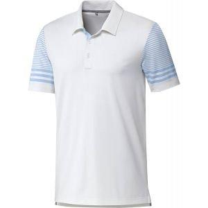 adidas Ultimate Sleeve Gradient Golf Polo - ON SALE