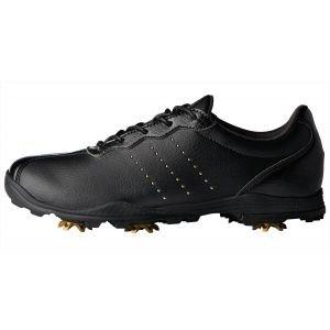 adidas Womens Adipure Dc Golf Shoes Black/Gold - ON SALE