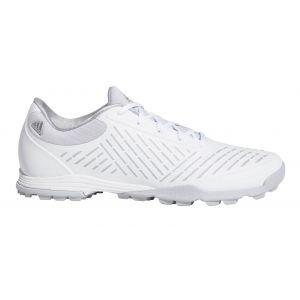 adidas Womens Adipure Sport 2 Golf Shoes White/Onix/Silver Metallic