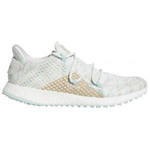 adidas Womens Crossknit Dpr Golf Shoes 2020 White/Green/White - ON SALE