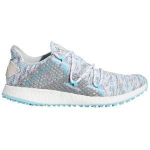 adidas Womens Crossknit DPR Golf Shoes White/Sky/Grey