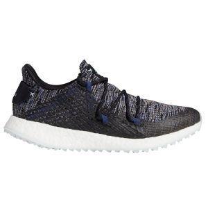 Adidas Womens Crossknit DPR Golf Shoes Black/Sky/Grey