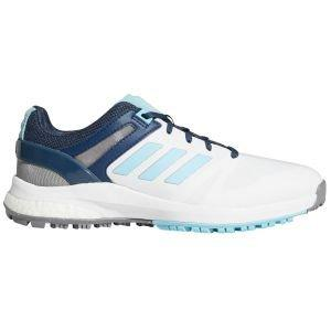 adidas Womens EQT Spikeless Golf Shoes White/Sky/Navy