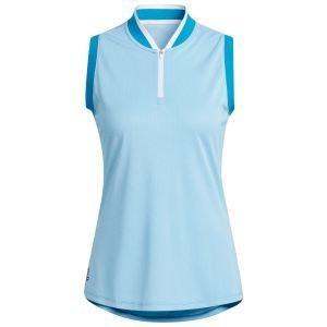 adidas Women's Equipment Primegreen Sleeveless Golf Polo Shirt