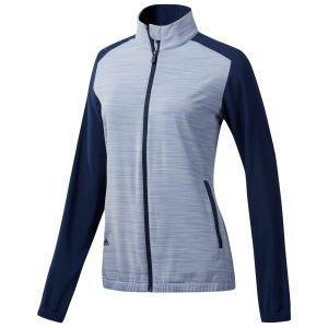 adidas Women's Essentials Full-Zip Wind Golf Jacket