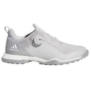 adidas Womens Forgefiber Boa Golf Shoes - Grey