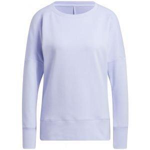 adidas Women's Go-To Recycled Content Crew Golf Sweatshirt