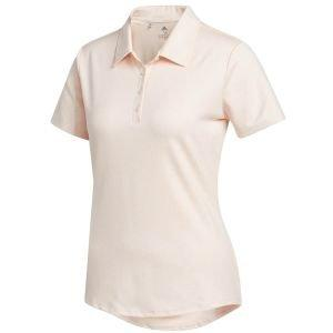 adidas Womens Jacquard Golf Polo Shirt
