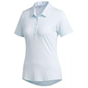 adidas Womens Microdot Golf Polo Shirt