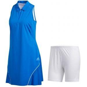 adidas Womens Perforated Color Pop Golf Dress - ON SALE