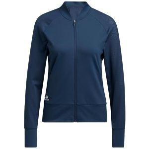 adidas Women's Perforated Full-Zip Golf Jacket