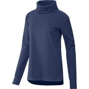 adidas Womens Polar Fleece Mock Neck Golf Sweatshirt