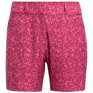 adidas Womens Primegreen Printed 5 Inch Golf Shorts On Sale
