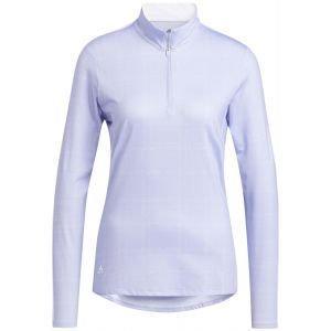adidas Women's Sun Protection Primegreen Long Sleeve Golf Shirt