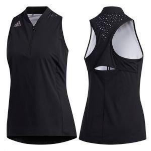 adidas Womens Sleeveless Racerback Golf Polo Shirt