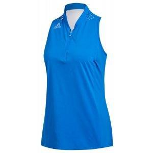 adidas Womens Sleeveless Racerback Golf Polo Shirt - ON SALE