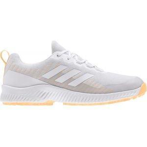 adidas Womens Response Bounce 2.0 SL Golf Shoes Grey/White/Orange