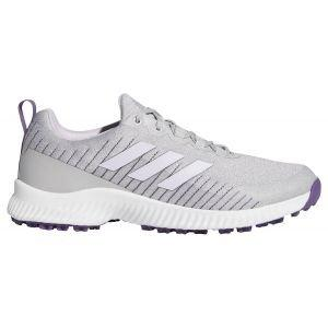 adidas Womens Response Bounce SL Golf Shoes 2020 - White/Purple/Grey