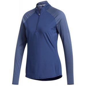 adidas Womens Solid UV Long Sleeve Golf Polo Shirt On Sale