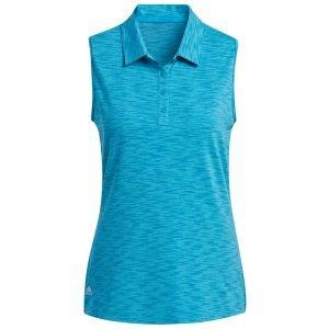 adidas Women's SpaceDye Sleeveless Golf Polo