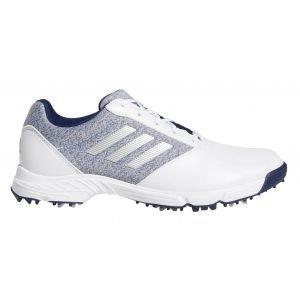 adidas Womens Tech Response Golf Shoes White/Indigo