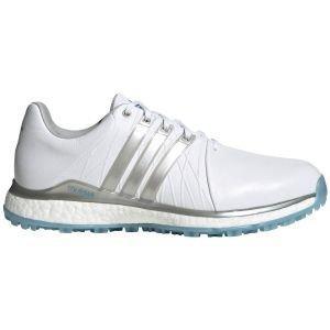 adidas Womens Tour360 XT-SL Spikeless Golf Shoes White/Silver/Blue