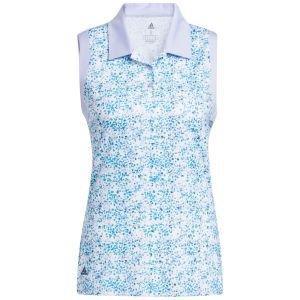 adidas Women's Ultimate365 Primegreen Sleeveless Golf Polo Shirt