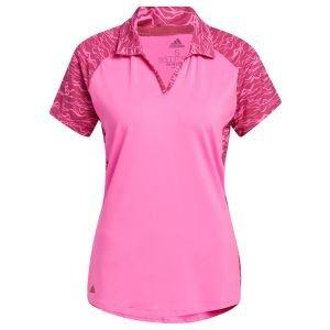 adidas Women's Ultimate365 Primegreen Printed Golf Polo Shirt