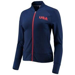adidas Women's USA Perforated Golf Jacket