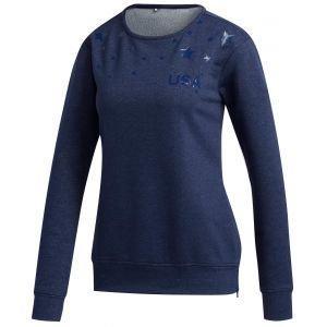 adidas Women's USA Star Golf Sweatshirt