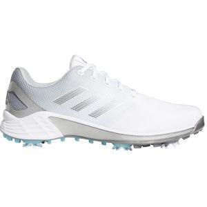 adidas ZG21 Golf Shoes White/Dark Silver/Silver Metallic