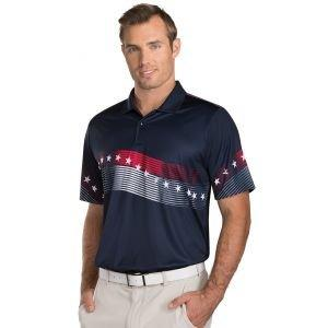 Antigua Patriot Golf Polo