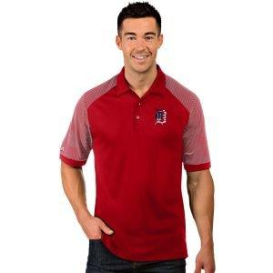 Antigua Detroit Tigers Engage Golf Polo - ON SALE
