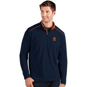 Antigua Detroit Tigers Glacier Golf Pullover