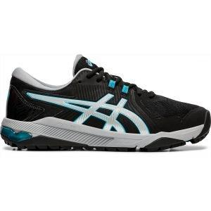 Asics Gel Course Glide Golf Shoes Black Silver