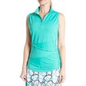 Bette & Court Women's Synergy Sleeveless Golf Polo
