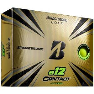 Bridgestone e12 CONTACT Matte Green Golf Balls