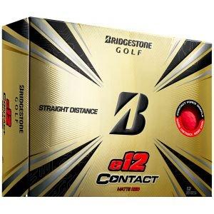 Bridgestone e12 CONTACT Matte Red Golf Balls