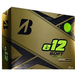 Bridgestone E12 Soft Golf Balls Green