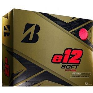 Bridgestone E12 Soft Red Golf Balls
