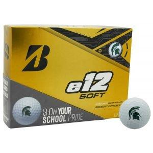 Bridgestone E12 Soft Collegiate Golf Balls - Michigan State Spartans