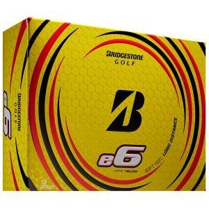 Bridge e6 Golf Balls 2021 - Yellow